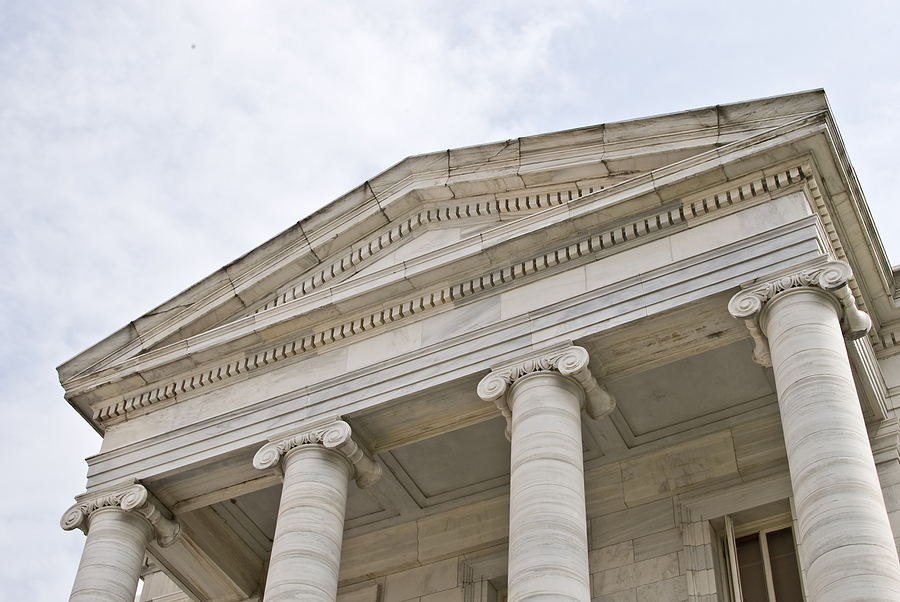 Court House with columns