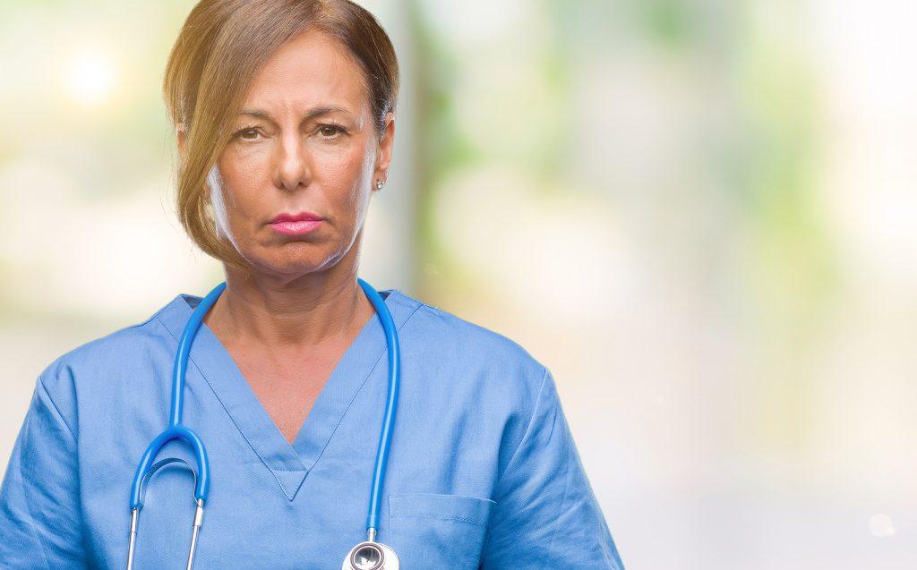 senior nurse doctor
