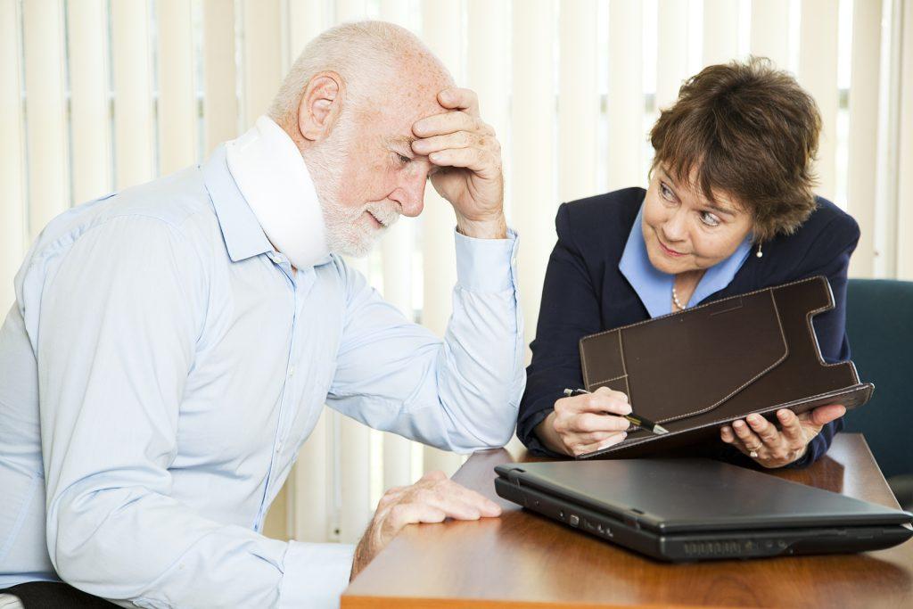 Olderman with Overwhelming Medical Bills