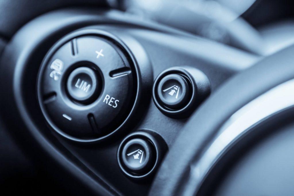 adaptive cruise control in car
